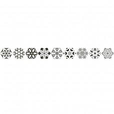 Керамогранит ALMERA CERAMICA (SPAIN) VERSALLES DECO BLACK HEX 8×240×200