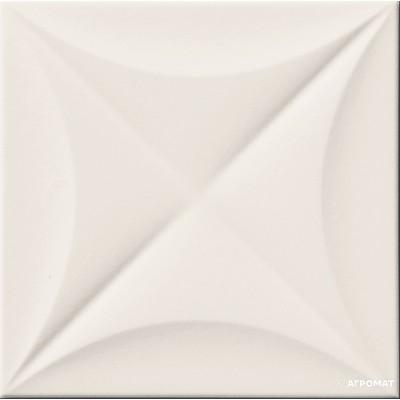 Плитка Marca Corona 4D E063 FLOWER WHITE MATT 20 9×200×200