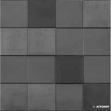 Мозаика L'Antic Colonial Metal L241713781 MOS ACERO ANTHRACITE 3D CUBES 11×300×300