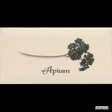 Плитка APE Ceramica Metro DEC APIUM CREMA декор 6×200×100