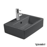 Керамическая раковина 45 см Duravit Vero, черная 0704450800