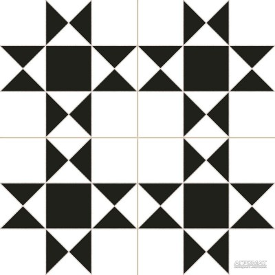 Напольная плитка Dual Gres Chic CARDIFF WHITE 10×450×450