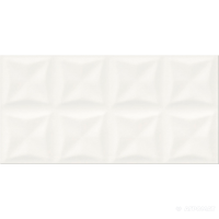 Плитка Opoczno Water Sparkles ORIGAMI WHITE GLOSSY STRUCTURE 9×600×297