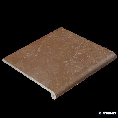 Клинкер EXAGRES Stone PELDANO FIOR. ML. BROWN ступени 10×330×330