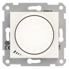 Светорегулятор поворотно-нажимной проходной емкостной Schneider Sedna Кремовый (SDN2200923)