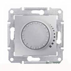 Светорегулятор поворотно-нажимной проходной емкостной Schneider Sedna Титан (SDN2200968)