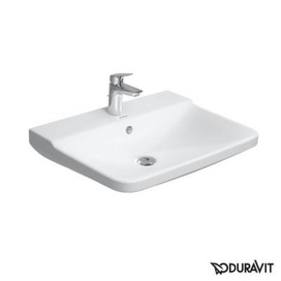 ⇨ Раковины | Керамическая раковина 65 см Duravit P3 Comforts 2331650000 в интернет-магазине ▻ TILES ◅