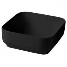 Керамическая раковина 40 см Artceram Gio Evolution, black glossy (GIL004 03;00)