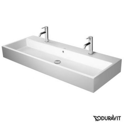 ⇨ Раковины | Керамическая раковина 120 см Duravit Vero Air 2350120026 в интернет-магазине ▻ TILES ◅