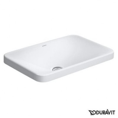 ⇨ Раковины | Керамическая раковина 55 см Duravit P3 Comforts 0377550000 в интернет-магазине ▻ TILES ◅