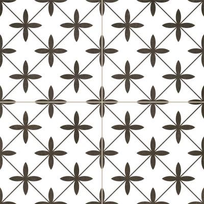 Напольная плитка Dual Gres Chic POOLE WHITE 10×450×450
