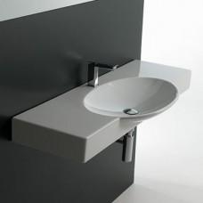 Керамическая раковина 120 см Artceram Swing, white glossy (SWL003 01;00)