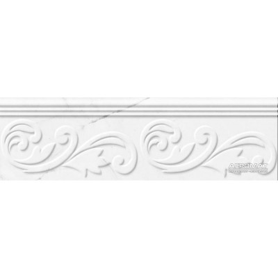 Плитка GOLDEN TILE Absolute modern БЕЛЫЙ Г20361 фриз 8×90×300