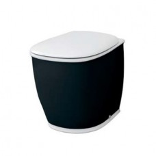 Напольный унитаз Artceram Azuley (AZV002 01;50) white glossy/black bicolor