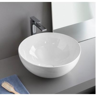 Керамическая раковина 46 см Artceram La Ciotola, white glossy (LCL001 01;00)