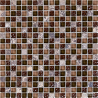 Мозаика Mozaico de LUx K-MOS SG10 ST+GL BROWN MIx