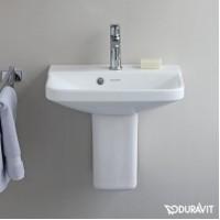 Керамическая раковина 45 см Duravit P3 Comforts 0716450000