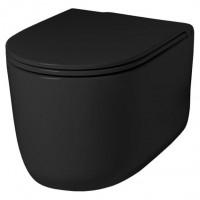 Подвесной унитаз безободковый Artceram Gio Evolution (GIV001 03;00) black glossy