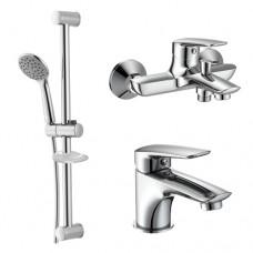 Набор смесителей для ванны Imprese Praha New 0510030670 3 в 1