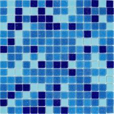 Мозаика Stella di Mare R-MOS B3132333537 микс голубой 5 20x20