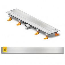 MCH CH-750-K Душевой канал 750мм с полированной решеткой Класик или под плитку
