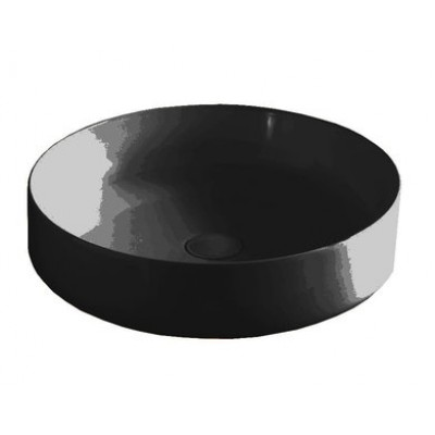 Керамическая раковина 48 см Artceram Cognac, black glossy (COL002 03;00)