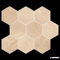 Плитка Opoczno Sahara Desert MOSAIC HExAGON 11×337×280