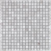 Мозаика Mozaico de LUx T-MOS GREY TRAVERTINE POLISHED 10×15×15