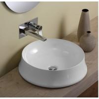 Керамическая раковина 50 см Simas Sharp, bianco glossy SH 01