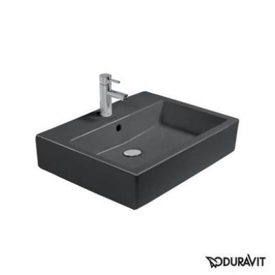 Керамическая раковина 59,5 см Duravit Vero, черная 0452600800
