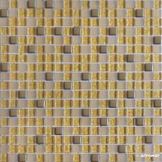 Мозаика Grand Kerama 506 Индивидуальный микс хром-золото