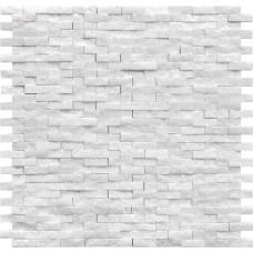 Мозаика MOZAICO DE LUx C-MOS BRICK CHINA WHITE SPLIT 10×305×305