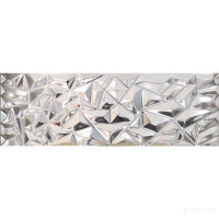 Плитка Venis Prisma SILVER 9×1000×333