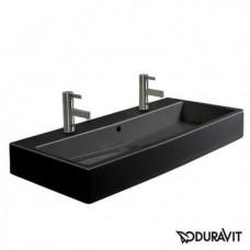Керамическая раковина 100 см Duravit Vero, черная 0454100826