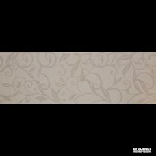 Плитка Ceramica de LUx Decorations G93000H4 (G93000-5) DEC LEAVES WHITE/a