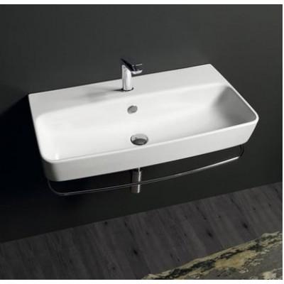 Керамическая раковина 90 см Simas Degrade, bianco glossy DE 12