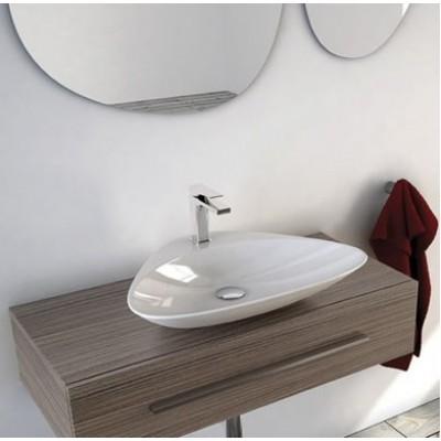 Керамическая раковина 60 см Artceram Plettro, white glossy (PTL001 01;00)