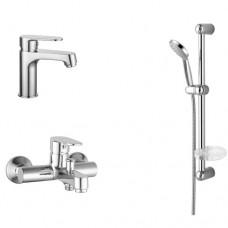 Набор смесителей для ванны Imprese Lesna 0510070670 3 в 1