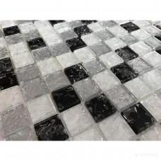 Мозаика Керамика Полесье Gretta White Mix
