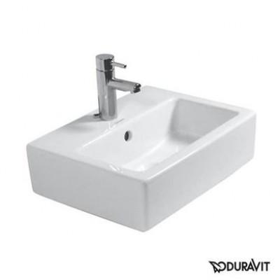 ⇨ Раковины | Керамическая раковина 45 см Duravit Vero, белая 0704450027 в интернет-магазине ▻ TILES ◅