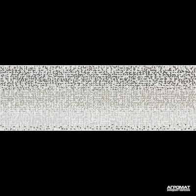 Плитка Opoczno Mirror GREY INSERTO GEO декор 10×750×250