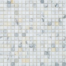 Мозаика MOZAICO DE LUx C-MOS CALACATTA GOLD POL 6×296×296