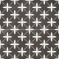Напольная плитка Dual Gres Chic POOLE BLACK 10×450×450