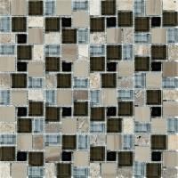 Мозаика MOZAICO DE LUx T-MOS GS11 ST+GL BROWN 8×269×269