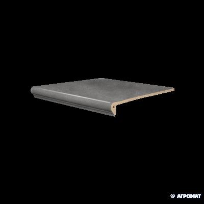 ⇨ Клинкерная плитка | Клинкер SDS Keramik Koblenz FLORENTINER ANTHRAZIT ступени в интернет-магазине ▻ TILES ◅