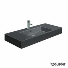 Керамическая раковина 105 см Duravit Vero, черная 0329100800