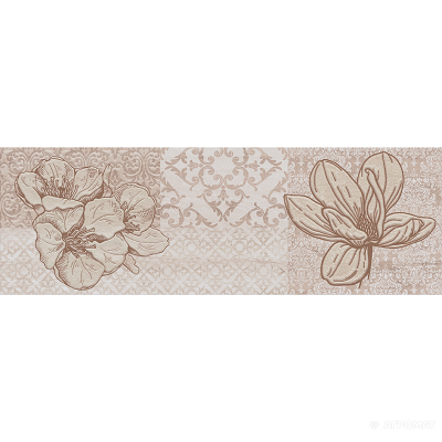 ⇨ Вся плитка | Плитка Cersanit Marble Room INSERTO FLOWER в интернет-магазине ▻ TILES ◅