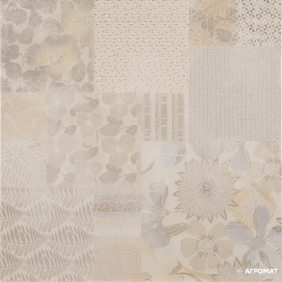 Керамогранит Almera Ceramica Hobby DEC LIGHT 8×600×600