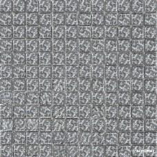 Мозаика Grand Kerama 940 (моно) платина рифленая