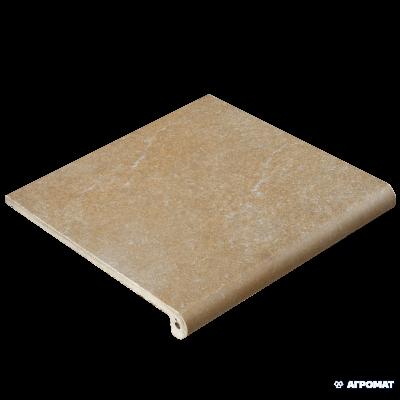 ⇨ Клинкерная плитка | Клинкер Exagres Stone PELDANO FIOR. ML. OCRE ступени в интернет-магазине ▻ TILES ◅